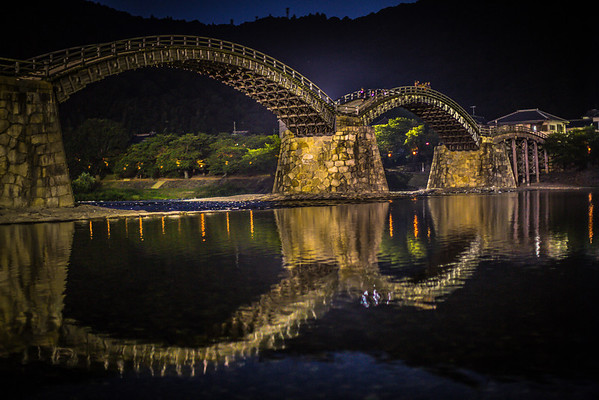Kintai Bridge, Iwakuni Japan