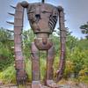 Ghibli Museum robot statue, Mitaka City