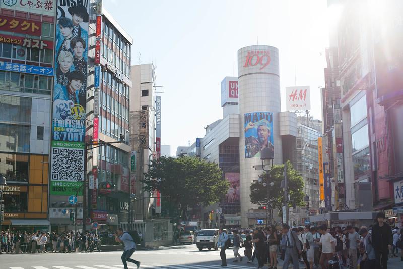 Wandering Shibuya