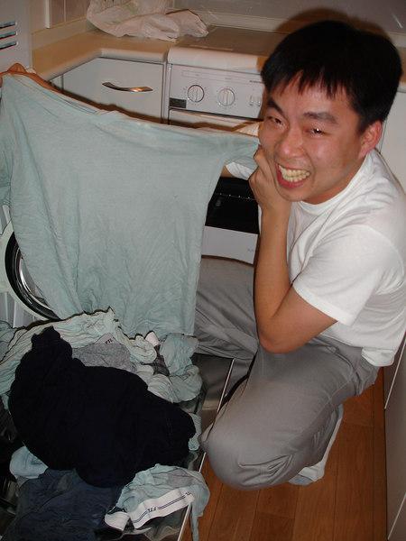 The Warm cycle on the washing machine is no joke