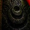 Sub-shrine of Fushimi Inari Taisha Shrine Etched Symbol