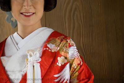 New Bride - Old Wood  Meiji Shrine, Harajuku, Tokyo, Japan.