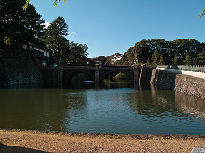 The bridge from the park to the Emperor's Palace.