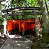 Fushimi Inari Taisha Shrine Torii Gates Double Entrance