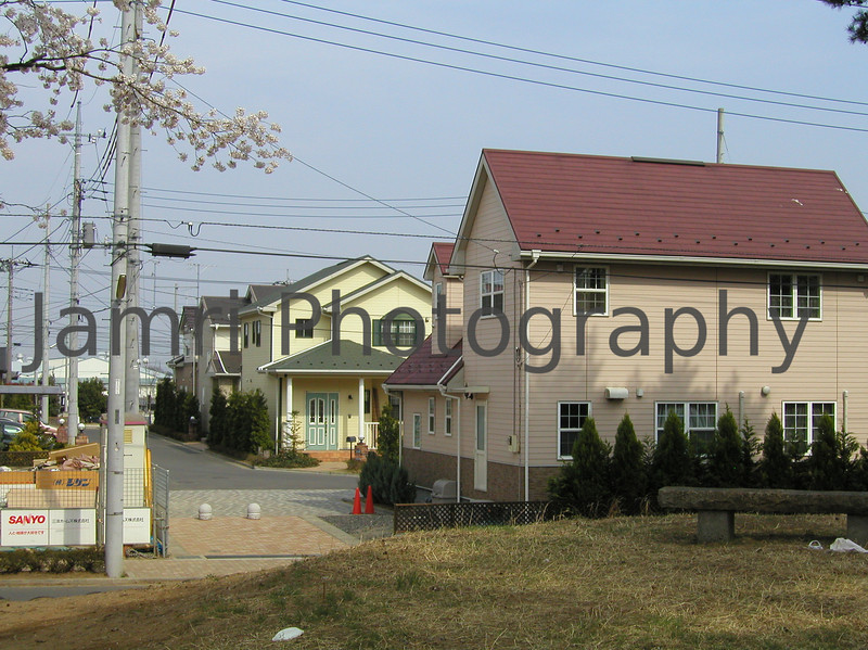 Colourful Houses, Gunma-ken, Japan