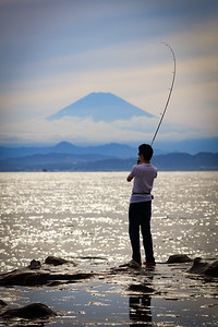 Fishin' with Fuji