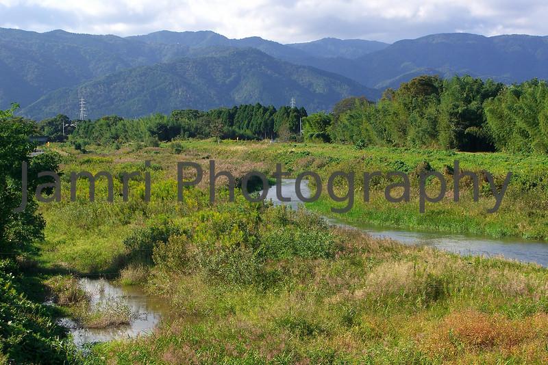 Winding River, Omi-Imazu, Shiga-ken, Japan