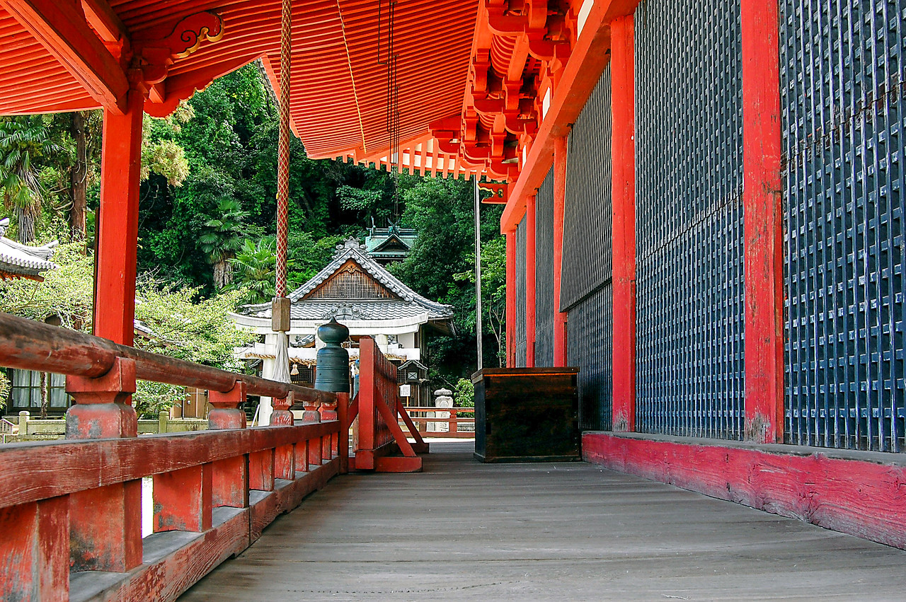 Red temple