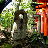 Fushimi Inari Taisha Shrine Torii Gates Outer Stones