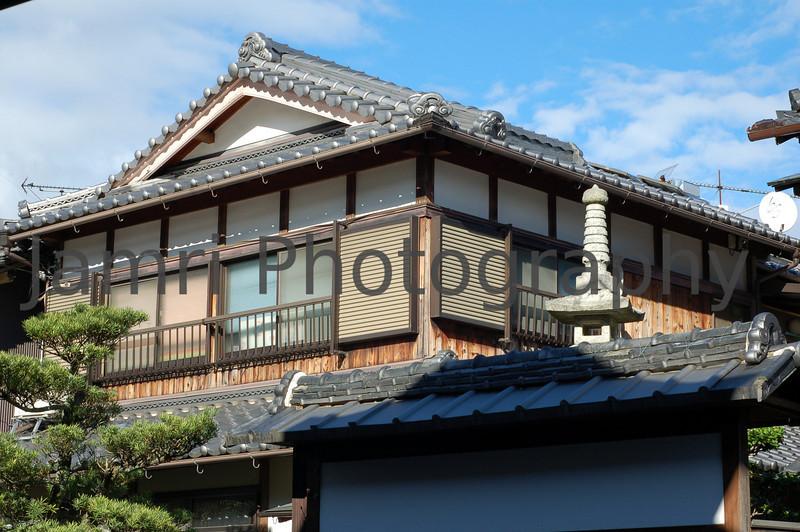 Traditional House, Sakamoto Area, Shiga-ken.