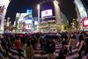 Tokyo - Shibuya Crossing 'The Scramble'
