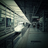 Shinkansen (Japanese Bullet Train) @ Kyoto (Japan)