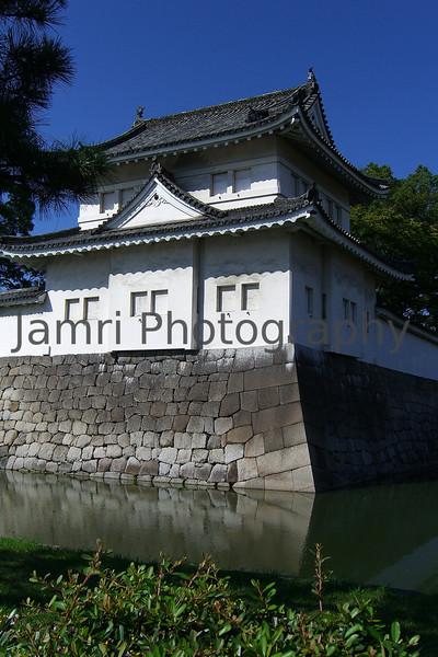 Nijo-jo moat (Tokugawa's Kyoto Castle), Kyoto, Japan
