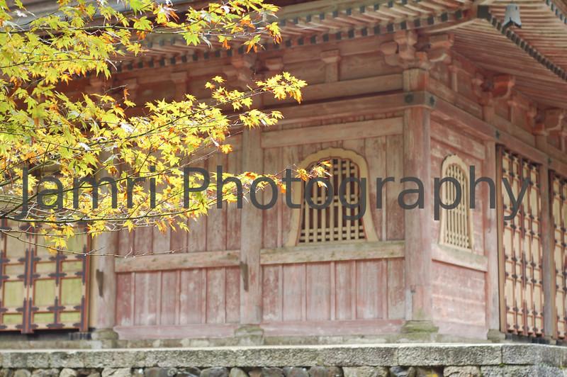 Ancient Temple, Hiei-zan, Shiga-ken, Japan