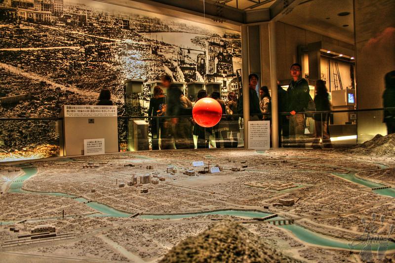Inside the Hiroshima Museum
