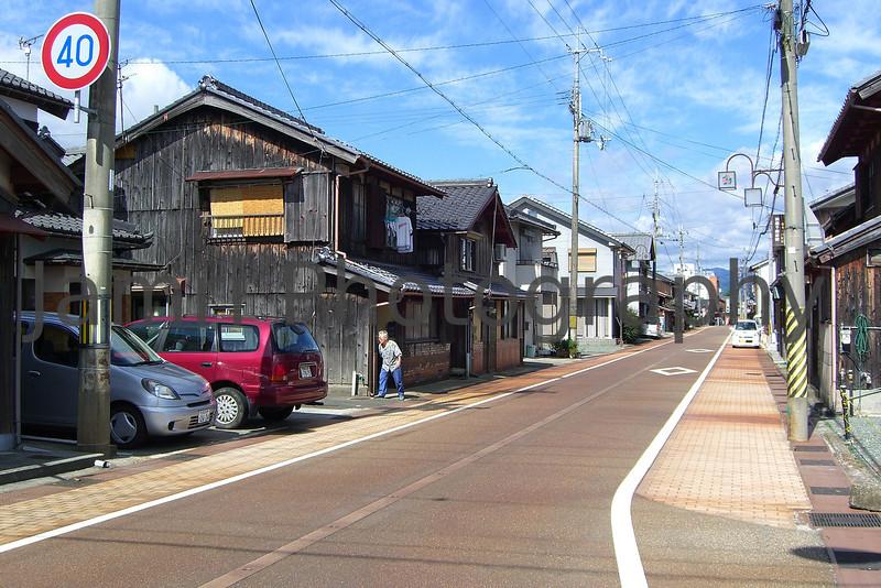Traditional Part of Town, Omi-Imazu, Shiga-ken, Japan