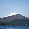 M:t Fuji from Ashi lake, Hakone Japa