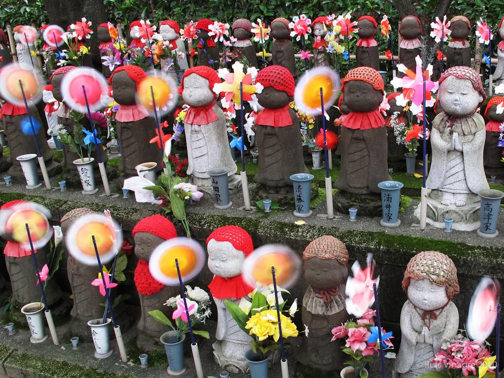 mizuko jizo at zojoji, tokyo / 水子地蔵, 増上寺, 東京