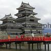Matsumoto Castle and Bridge, Matsumoto, Nagano-ken, Japan