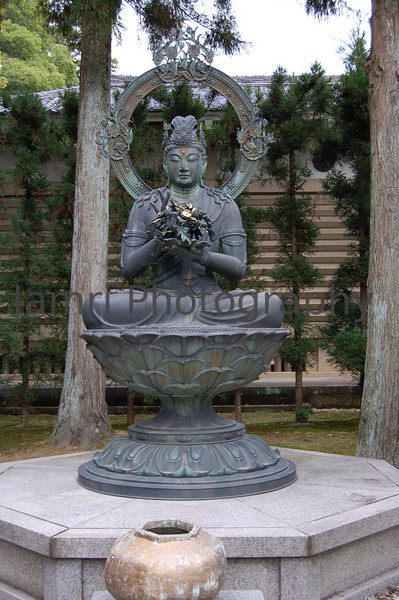 Flower Arranging Buddha, Ninna-ji (Shingon Buddhist Temple), Kyoto, Japan