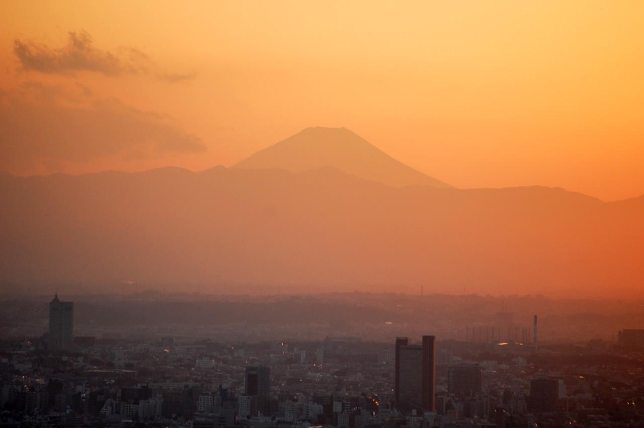 Mount Fuji from Roppongi