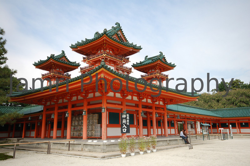 Heian-jingu (Heian Shrine), Kyoto, Japan