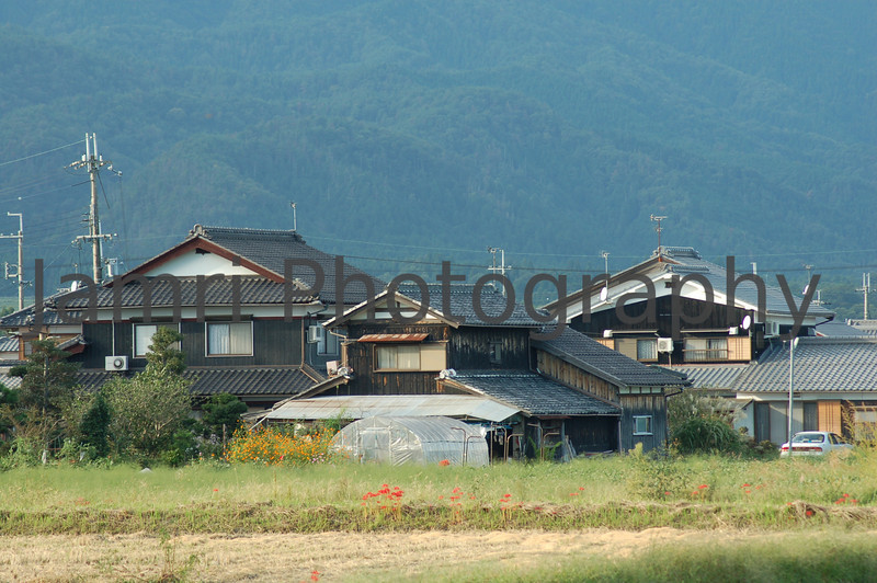 Rural Houses, Omi-Imazu, Shiga-ken, Japan