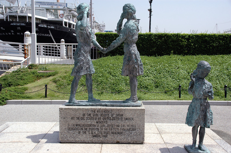 Girl Scout Monument - Yamashita Park