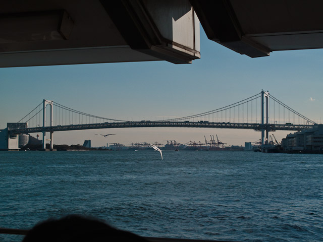 This bridge almost looks similar to another famous bridge from earlier in the trip!