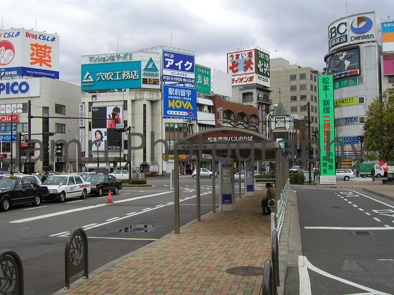 Matsumoto Town Centre, Nagano-ken, Japan