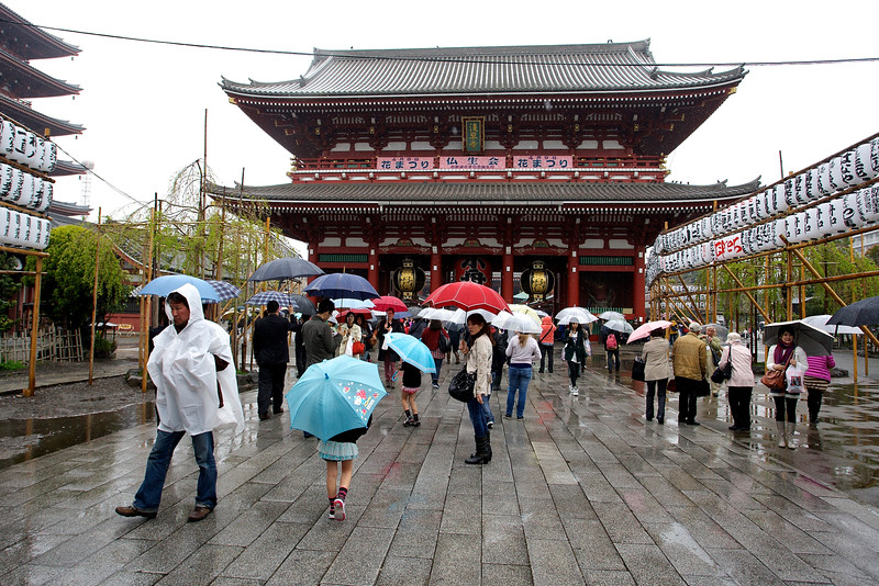 Tokyo Asakusa shrine at Taito
