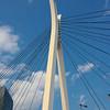 Bridge support on the Sumida river, Tokyo, JP