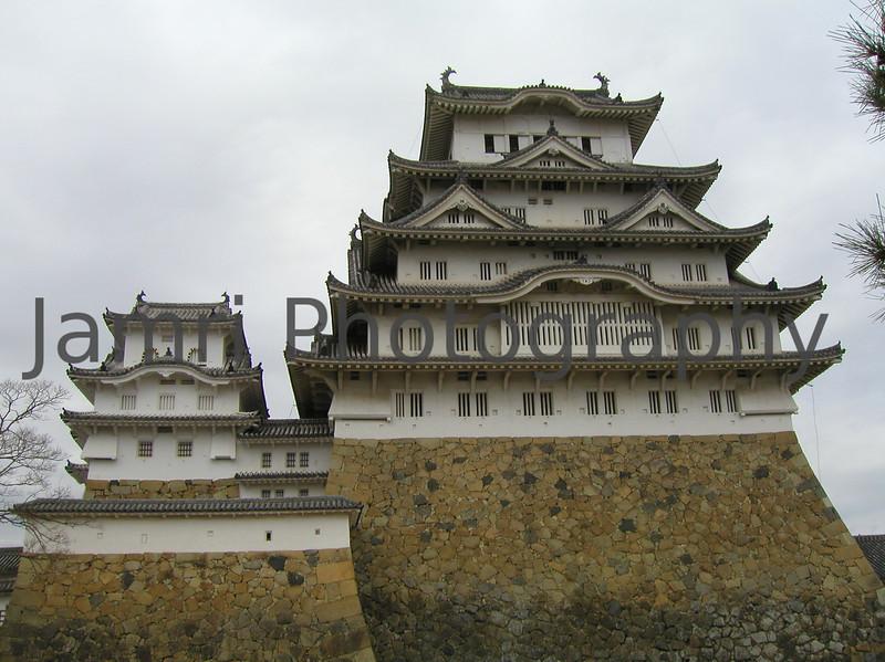 Himeji Castle Up Close, Hyogo-ken, Japan