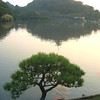 Lake scene at Sankeien.