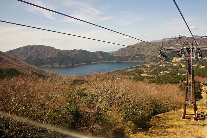 Ashi lake, Hakone Japan