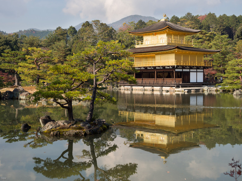 This and the next few: Kinkakuji, the Golden Pavillion