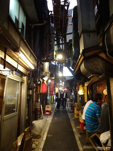 Yakitori Alley, Tokyo, Japan