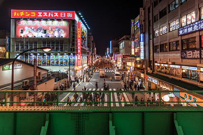 Okubo at night