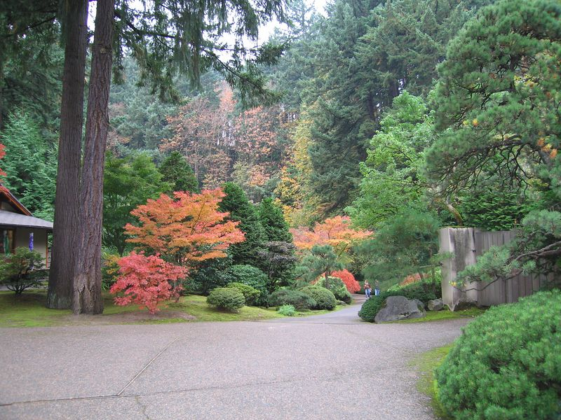 Japanese Garden, Portland, OR, 23 Oct 2005