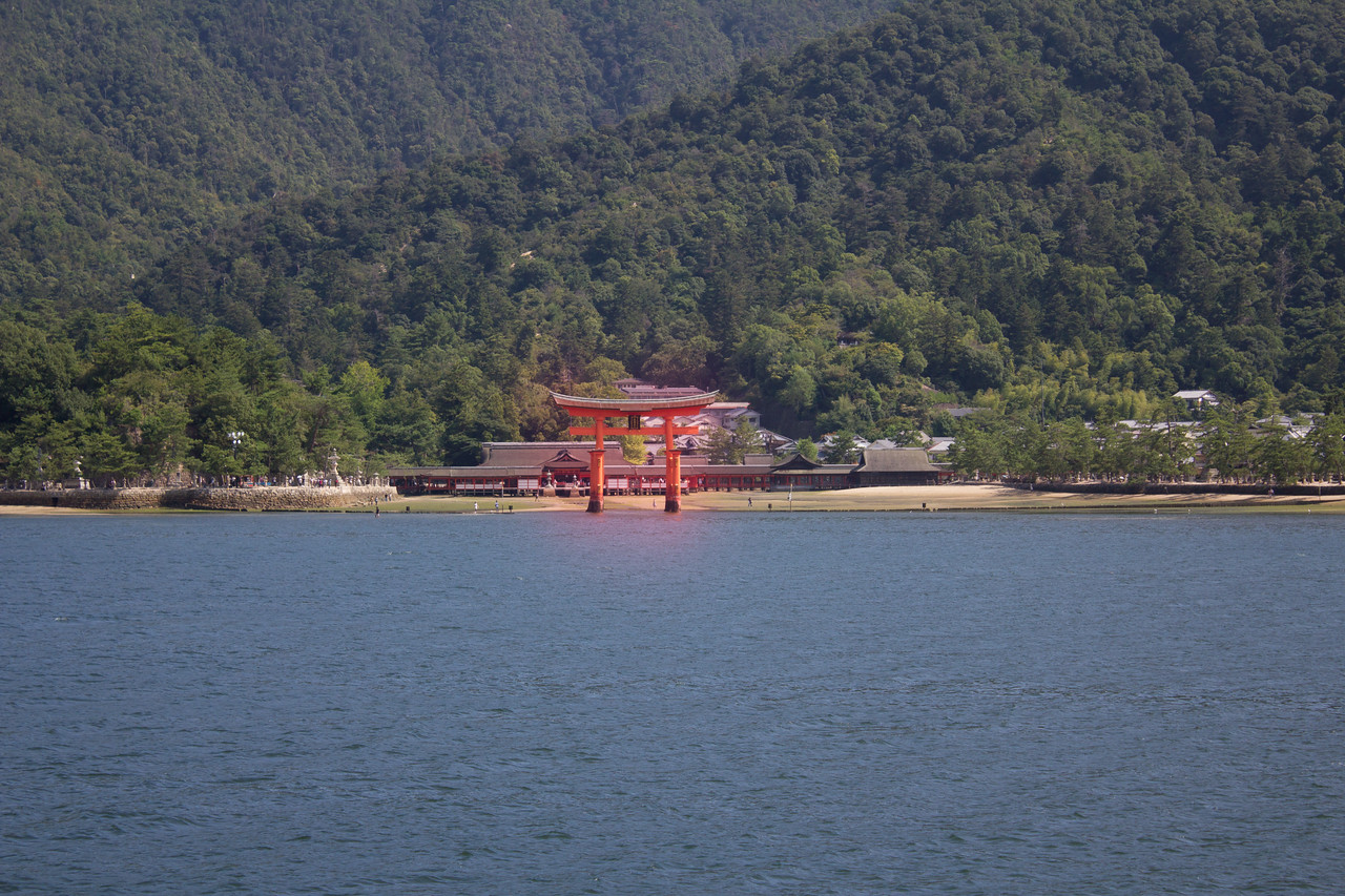 The Itsukushima Shrine popularly called as Miyajima is a Shinto shrine on the island of Itsukushima in Hiroshima Prefecture in Japan. The shrine complex is listed as a UNESCO World Heritage Site.