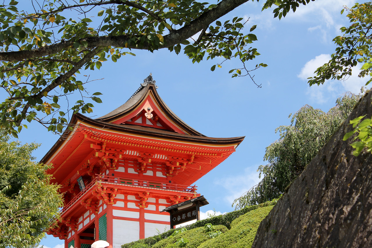 'Gorgeous Temple' - A picture of a temple in Kyoto, Japan.