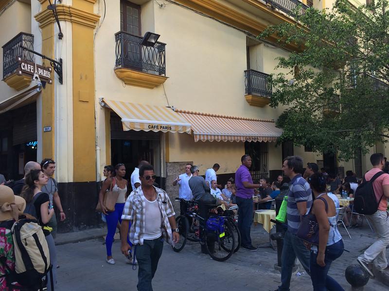 Cafe Paris - Old Havana