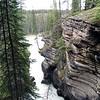 Steep Canyon below Athabasca Falls