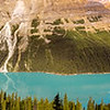 Peyto Lake along the Icefields Parkway - Jasper National Park