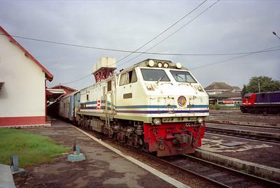 Treinreis Bandung-Yogyakarta