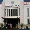 Jogjakarta's Train Station in Central Java.