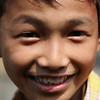 Javanese boy at Borobudur.