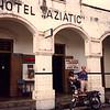 Bill at the Hotel Aziatic, Jogjakarta, 1987.