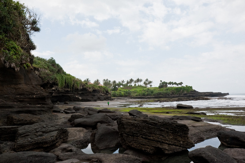 shore near Tanah Lot, Bali