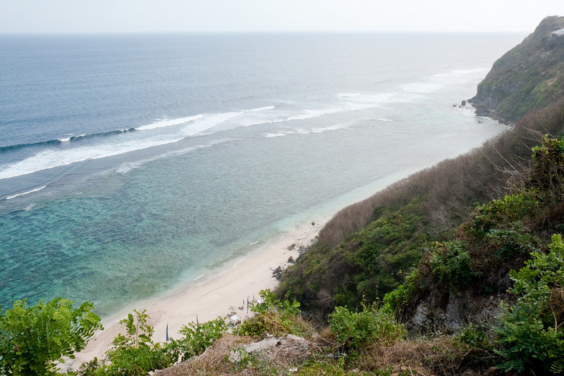 South coast of Bukit Peninsula